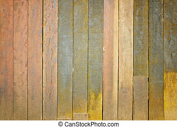 vieux, grunge, mur, bois