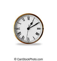 vieux, horloge
