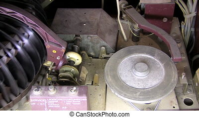 vieux, juke-box