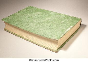 vieux, livre cartonné