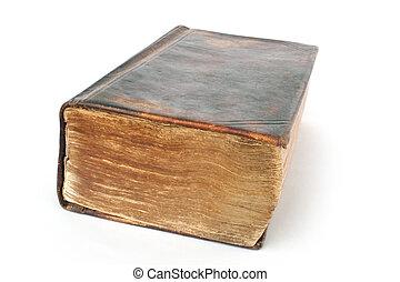 vieux, livre