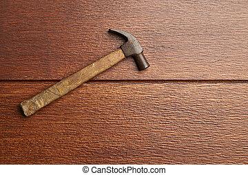 vieux, marteau