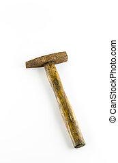 vieux, marteau, rouille