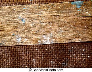 vieux, mur bois, sale, grunge, planche