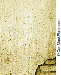 vieux, mur brique, 1