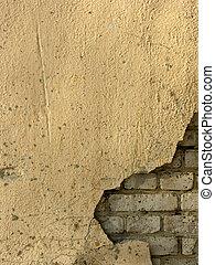 vieux, mur brique, 3