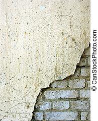 vieux, mur brique, 5