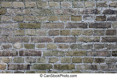 vieux, mur, texture, fond, brique, ou