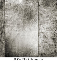 vieux, papier déchiré, arrière-plan., texture