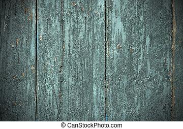 vieux, peint, bois, fond