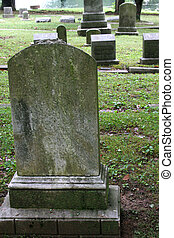 vieux, pierre tombale