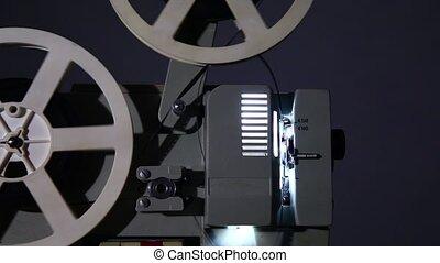 vieux, projecteur