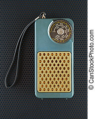 vieux, radio transistor