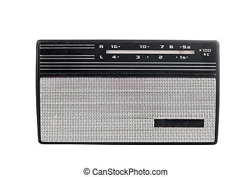 vieux, soviétique, radio portable