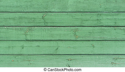 vieux, texture bois, arrière-plan vert