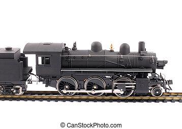 vieux, train vapeur