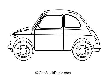 Vieux croquis voiture - Croquis voiture ...