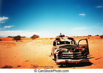 vieux, voiture
