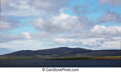 View across the Loch of Harray, Orkney, Scotland - A View...