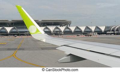 View airport of Bangkok