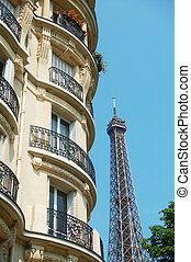 View at Eiffel Tower