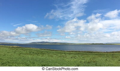 View at Harray Loch, Orkney - A View at Harray Loch, Orkney