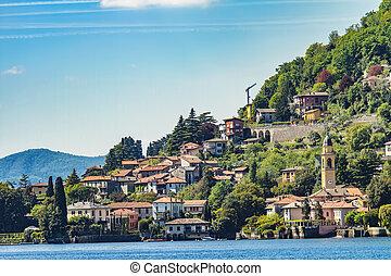 Laglio on Como lake , Italy