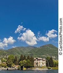 Tavernola on Como lake, Italy