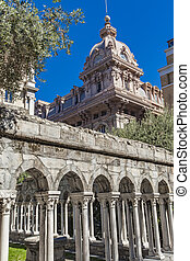 St Andrew's Cloister in Genoa