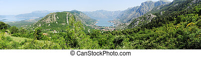 View at the bay of Kotor