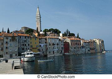 View at the croatian city Rovinj (Rovigno)