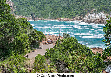 View at The Heads in Knysna