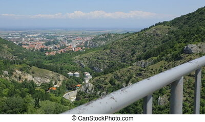 View from a mountain in Bulgaria