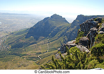 Table Mountain, Cape Town, South Africa - View from above ...