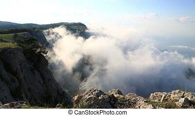 view from Ai-Petri mountain , Crimea