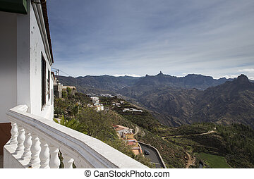 View from Artenara town