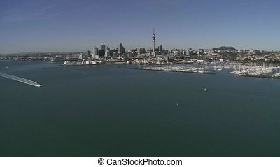 View from Auckland bridge