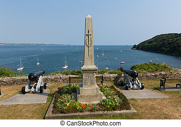 View from Cawsand Cornwall UK