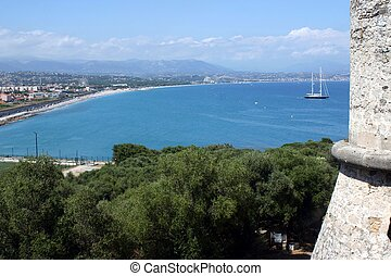 View from Fort Carre, Antibes