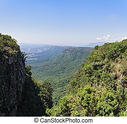 View from God's Window along the Blyde River Canyon, Mpumalanga, South Africa