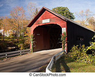 Green River Covered Bridge - View from Green River Covered...