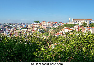 View from Lisbon Castle