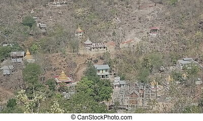 View from Mount Popa - View from the top of Popa Taungkalat...