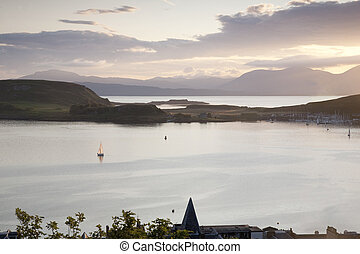 View from Oban Folly, Scotland, UK