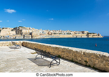 View from Senglea, Malta