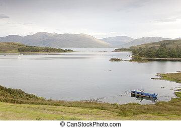 View from Sleat, Isle of Skye, Scotland, UK