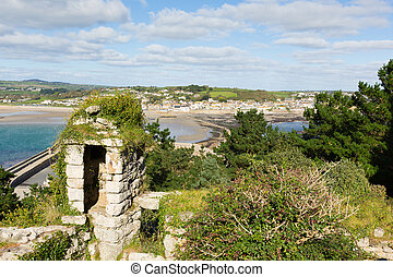 View from St Michaels Mount Marazio
