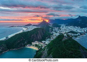 View from Sugarloaf Mountain - The Sugarloaf Mountain is...