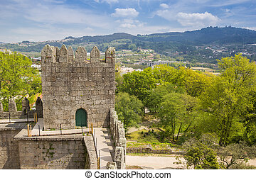 View from the castle of Guimaraes