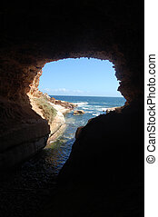 View from the cave